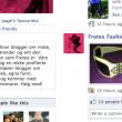 Eksempler på Facebookprofiler