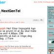 Klag på Nextgentel på Twitter – og de svarer